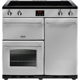 Belling Farmhouse 90cm Electric Induction Range Cooker
