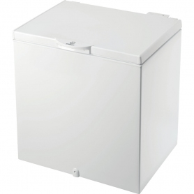 Indesit 80cm 204 Litre Chest Freezer - White - A+ Rated
